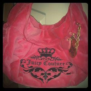 Velour Juicy Couture Handbag